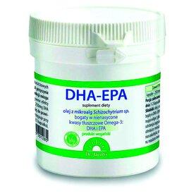 DHA-EPA 60 kapsułek dr Jacobs Kapsułki z olejem z mikroalg