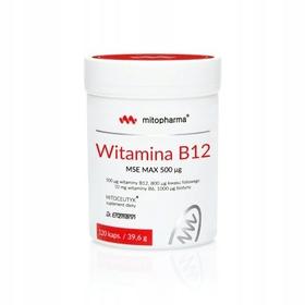 Witamina B12 MSE 500 120kap Dr Enzmann biotyna B6
