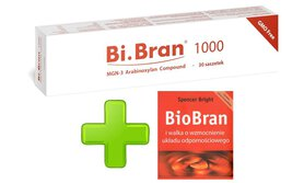 BiBran 1000 30 saszetek Daiwa BioBran importowany z Japonii + książka Spencera Brighta gratis