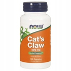 Cats Claw 500 mg 100 kapsułek Now Foods USA Uncaria Tomentosa Koci pazur (1)